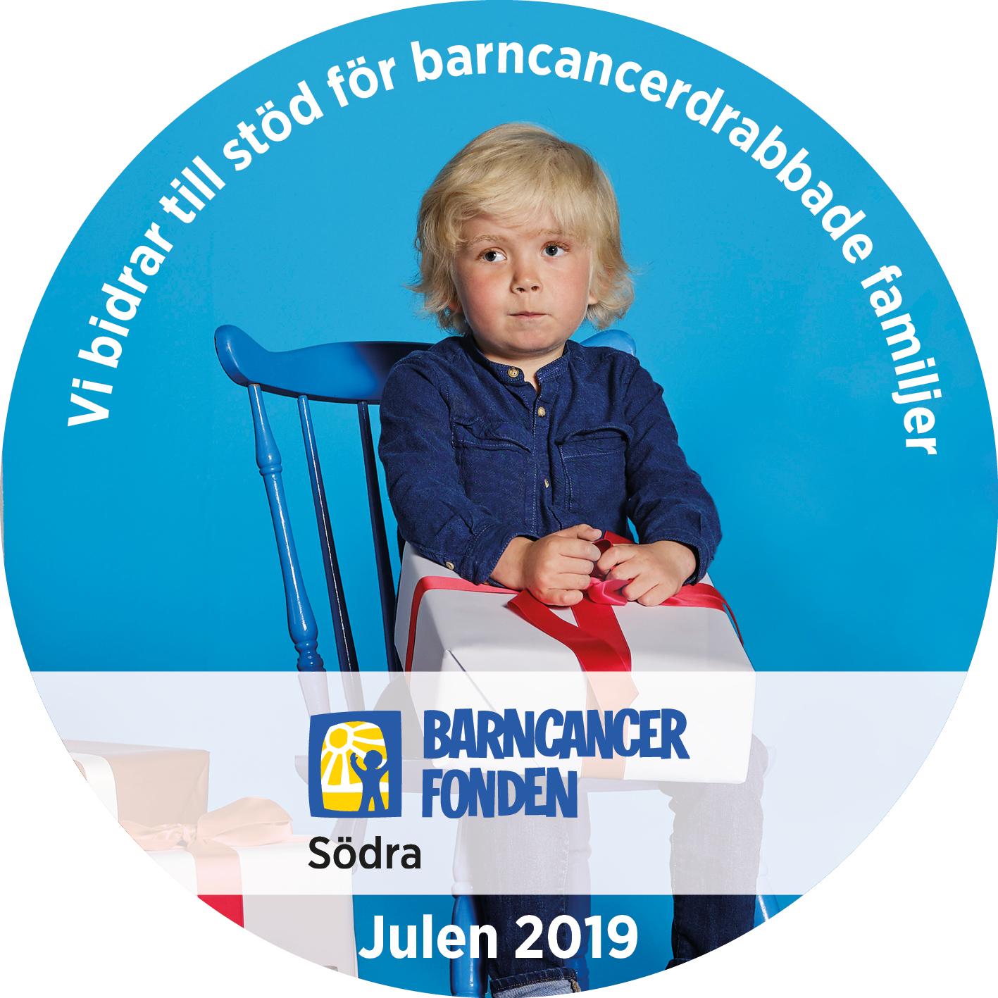 Diamir supports Barncancerfonden Södra!